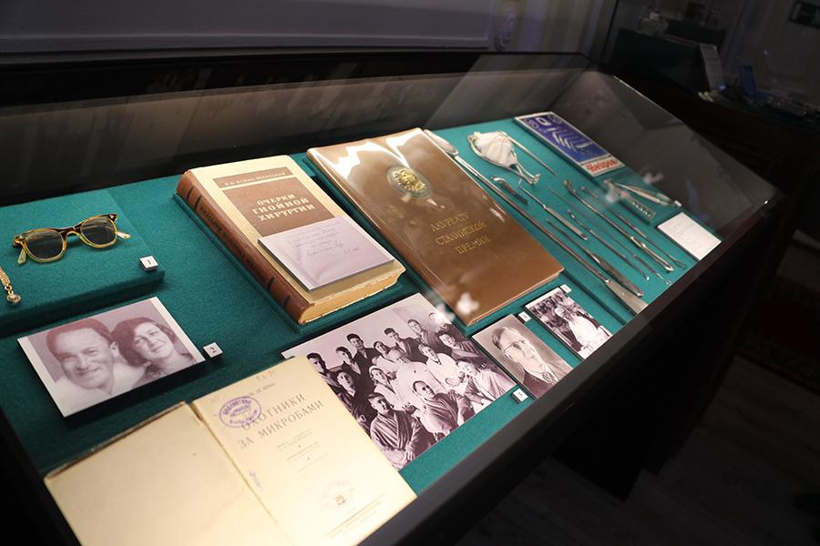 Открытие выставки «Насаждение народного здравия»